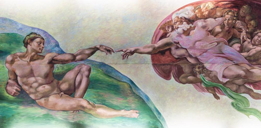 A Criacao De Adao De Michelangelo Arte Blog