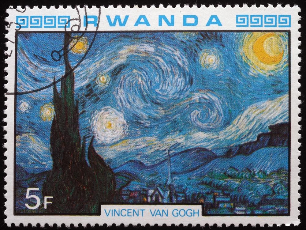 Quadro A Noite Estrelada De Vincent Van Gogh Arte Blog
